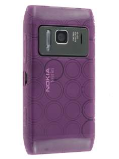 Nokia N8 TPU Gel Case - Purple Soft Cover
