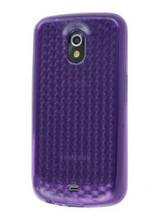 Samsung Google Galaxy Nexus I9250 TPU Gel Case - Diamond Purple