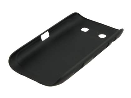 BlackBerry Torch 9860 UltraTough Rubberised Slim Case - Classic Black