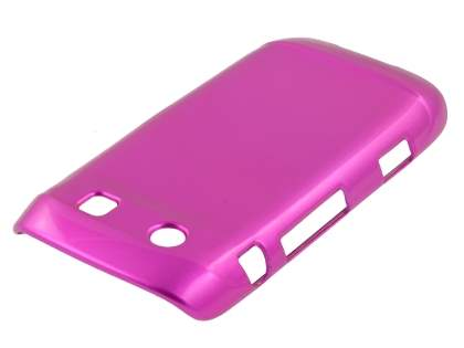 BlackBerry Torch 9860 Glossy Back Case - Hot Pink