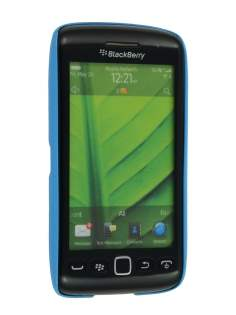BlackBerry Torch 9860 Glossy Back Case - Sky Blue