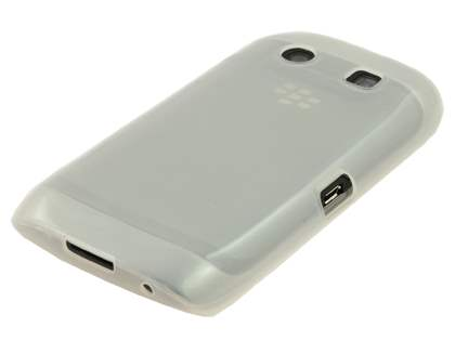 BlackBerry Torch 9860 Frosted TPU Gel Case - Frosted Clear