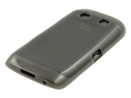 BlackBerry Torch 9860 Frosted TPU Gel Case - Frosted Grey