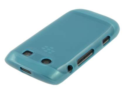 BlackBerry Torch 9860 Frosted TPU Gel Case - Frosted Light Blue