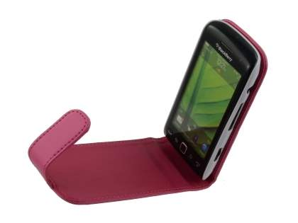 BlackBerry Torch 9860 Synthetic Leather Flip Case - Pink