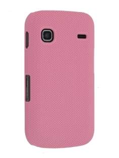 Samsung S5660 Galaxy Gio Dream Mesh Case - Baby Pink Hard Case