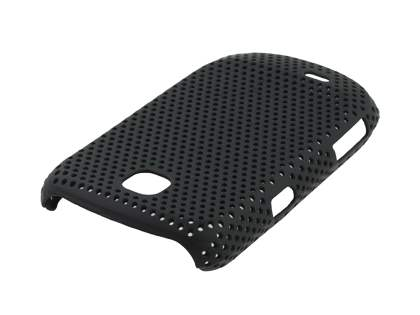 Samsung S5570 Galaxy Mini Slim Mesh Case - Classic Black