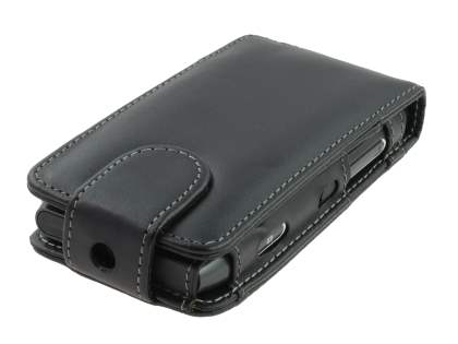 Nokia N8 Synthetic Leather Flip Case - Black