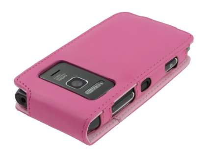 Nokia N8 Synthetic Leather Flip Case - Pink