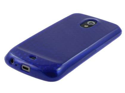 Samsung Google Galaxy Nexus I9250 TPU Gel Case - Diamond Blue