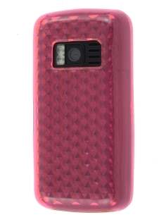 Nokia C6-01 TPU Gel Case - Diamond Pink Soft Cover