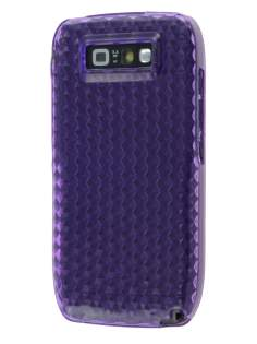 Nokia E71 TPU Gel Case - Diamond Purple