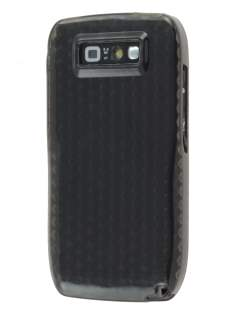 Nokia E71 TPU Gel Case - Diamond Grey Soft Cover