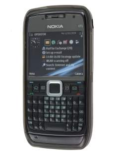 Nokia E71 TPU Gel Case - Diamond Grey