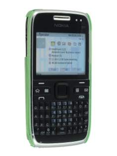 TPU Gel Case for Nokia E72 - Green