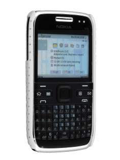 Nokia E72 Dream Mesh Case - Pearl White