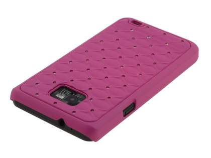 Fashionable Case for Samsung I9100 Galaxy S2 - Pink