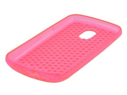 Samsung Google Galaxy Nexus I9250 TPU Gel Case - Diamond Pink