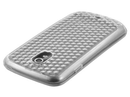 Samsung Google Galaxy Nexus I9250 TPU Gel Case - Diamond Clear