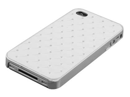 Fashionable Case for iPhone 4S/4 - White