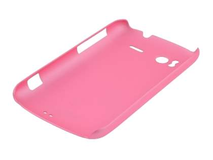 Rubberised Colour Case for HTC Sensation - Baby Pink