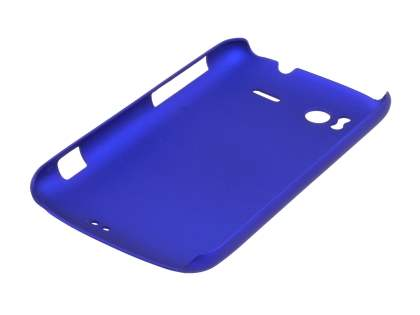 Rubberised Colour Case for HTC Sensation - Navy Blue