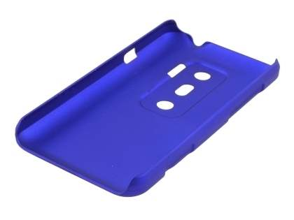 Rubberised Colour Case for HTC EVO 3D - Navy Blue