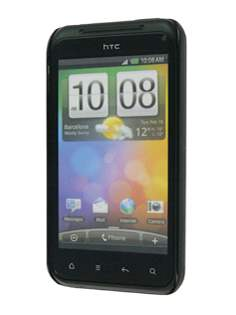 HTC Incredible S Brushed Aluminium Case plus Screen Protector - Gold