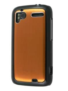Brushed Aluminium Case for HTC Sensation - Bronze Hard Case