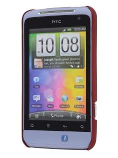 HTC Salsa Colour Case - Burgundy Red