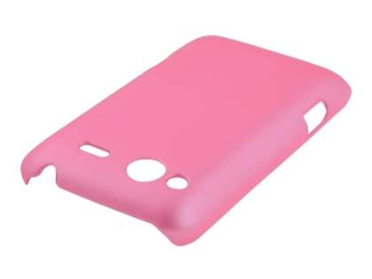 HTC Salsa Colour Case plus Screen Protector - Baby Pink