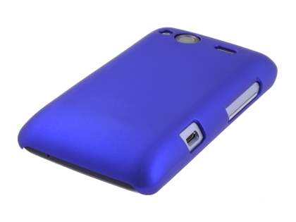 HTC Salsa Colour Case plus Screen Protector - Navy Blue