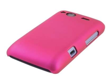 HTC Salsa Colour Case plus Screen Protector - Hot Pink