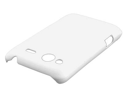 HTC Salsa Colour Case plus Screen Protector - Pearl White