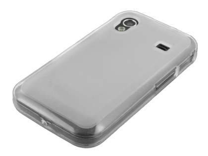 Samsung Galaxy Ace S5830 TPU Gel Case - Frosted Clear