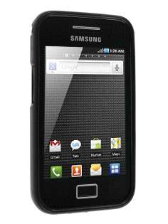 Samsung Galaxy Ace S5830 TPU Gel Case - Frosted Black