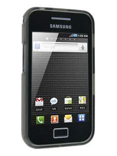 Samsung Galaxy Ace S5830 TPU Gel Case - Frosted Grey