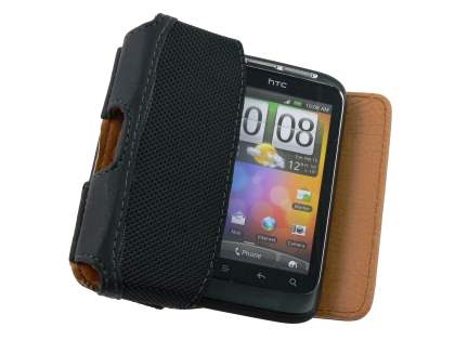 HTC Explorer Synthetic Leather Belt Pouch