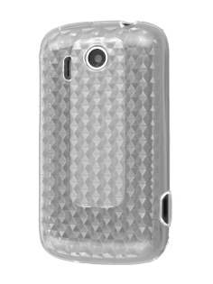 HTC Explorer TPU Gel Case - Diamond Clear Soft Cover