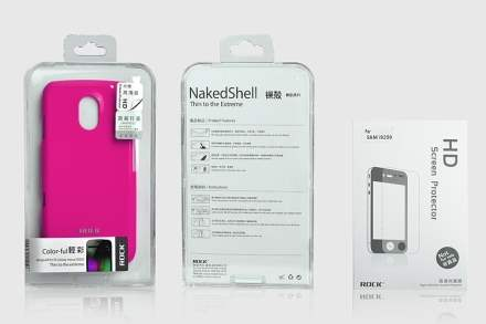 ROCK Nakedshell Glossy Colour Case for Samsung I9250 Google Galaxy Nexus - Glossy Pink