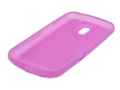 Samsung Google Galaxy Nexus I9250 TPU Gel Case - Frosted Pink