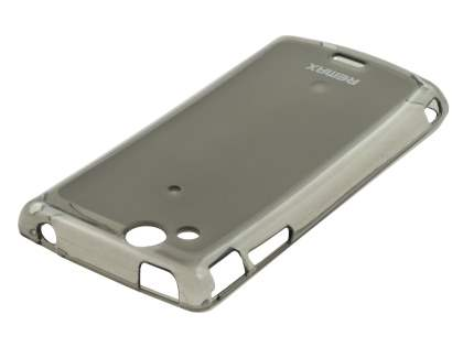 REMAX Sony Ericsson XPERIA Arc/Arc S Frosted TPU Case plus Screen Protector - Frosted Grey
