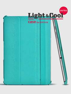 ROCK Samsung Galaxy Tab 10.1 Executive LC Case with Stand - Aqua Blue