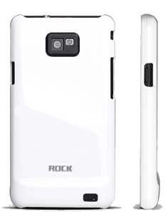 ROCK Nakedshell Colour Case for Samsung I9100 Galaxy S2 - Glossy White