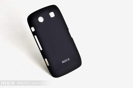 ROCK Nakedshell Case for BlackBerry Torch 9860 - Classic Black