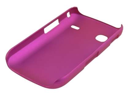 Samsung Galaxy Gio S5660 Rubberised Colour Case - Hot Pink