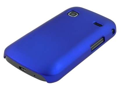 Samsung Galaxy Gio S5660 Rubberised Colour Case - Navy Blue