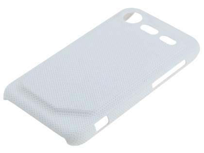 HTC Incredible S Dream Mesh Case - Pearl White