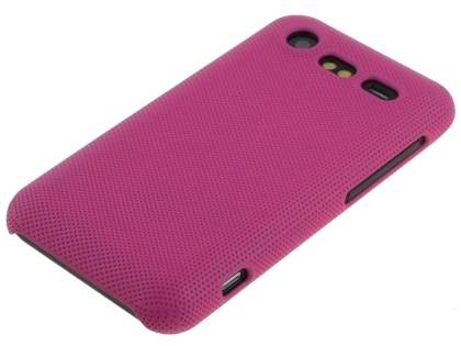 HTC Incredible S Dream Mesh Case - Hot Pink