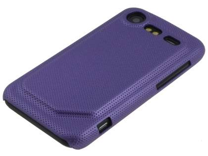 HTC Incredible S Dream Mesh Case - Grape Purple